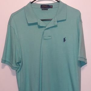 🐎Large Polo Ralph Lauren Casual Mint Green shirt